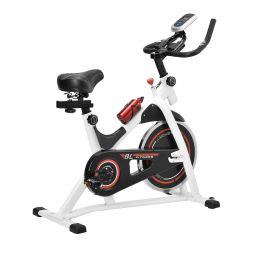 Heimtrainer Fahrrad Fitness Bike Trimmrad Indoor Cycling Rad Sattel [in.tec]